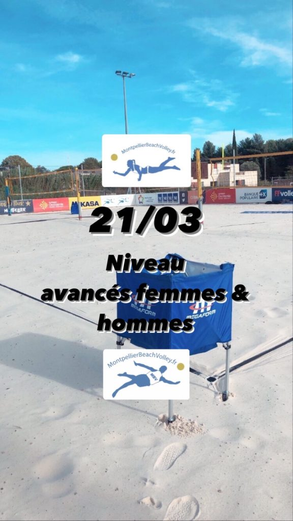 21/03 NIVEAU AVANCÉS FEMMES & HOMMES  !☀️