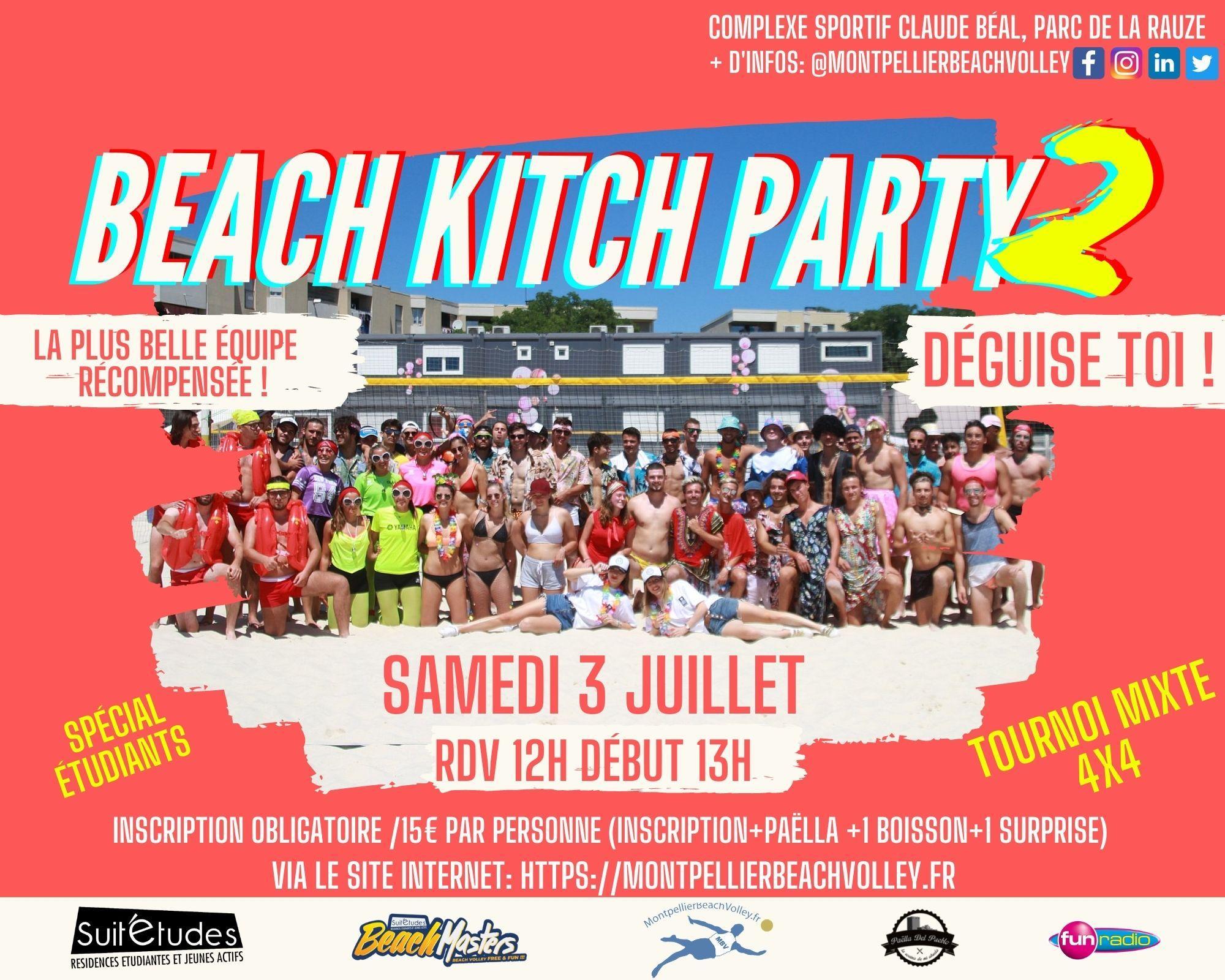 Le retour de la Beach Kitch Party 2 !