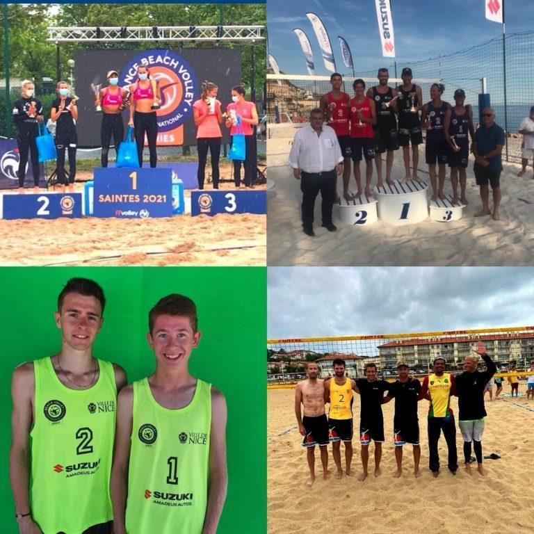 Read more about the article De beaux résultats ce week-end pour les équipes du MBV !