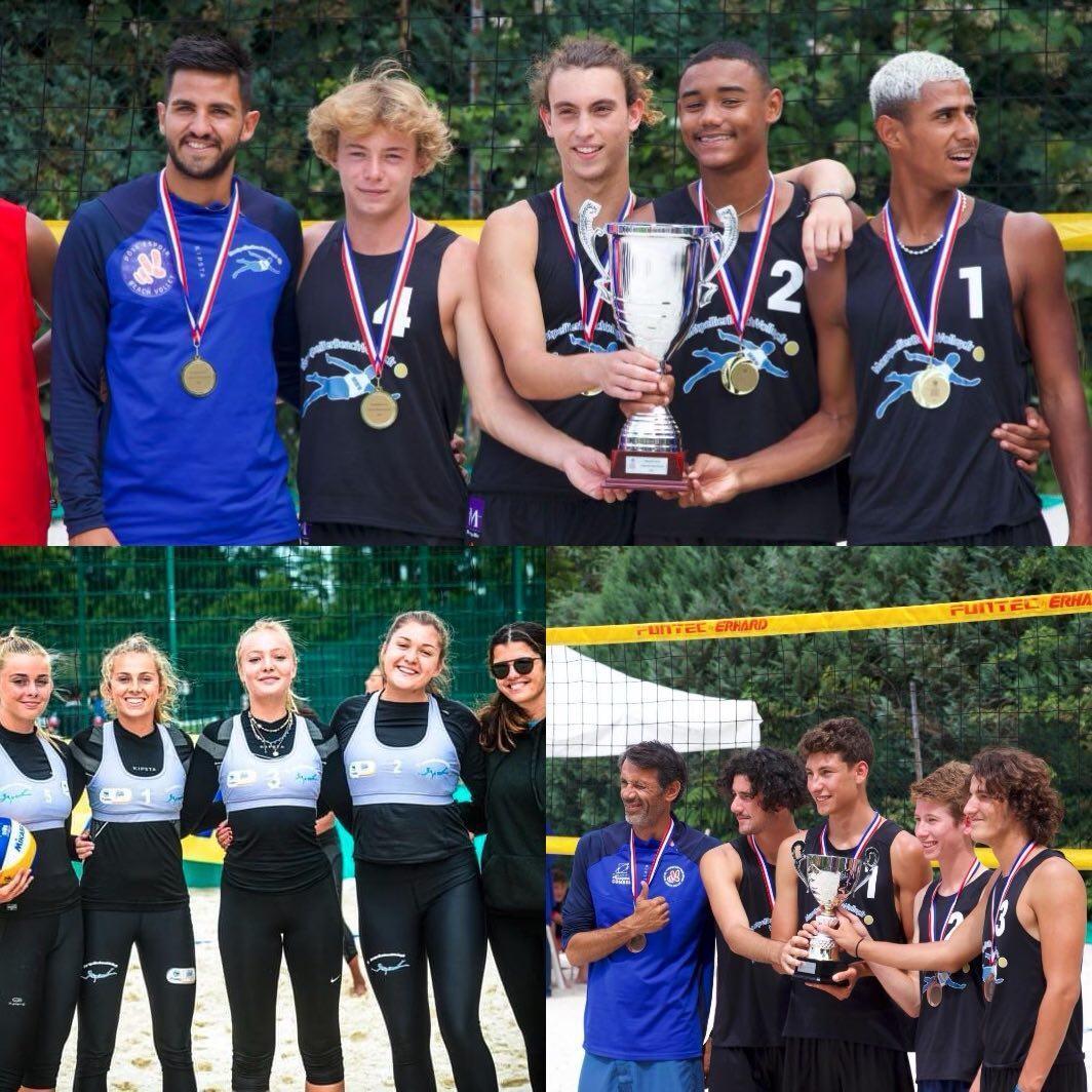 You are currently viewing Vainqueurs et 3e place de la Coupe de France de Beach Volley M18 Masculine 2021 !