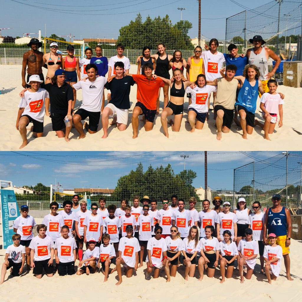 Read more about the article 2 semaines de folie au Summer Camp Beach Volley 2021 !