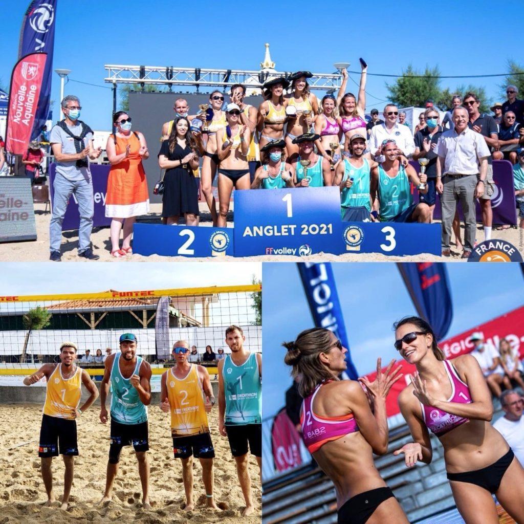 Read more about the article Résultats de l'Open d'Anglet – Série 1 pour les équipes du MBV !