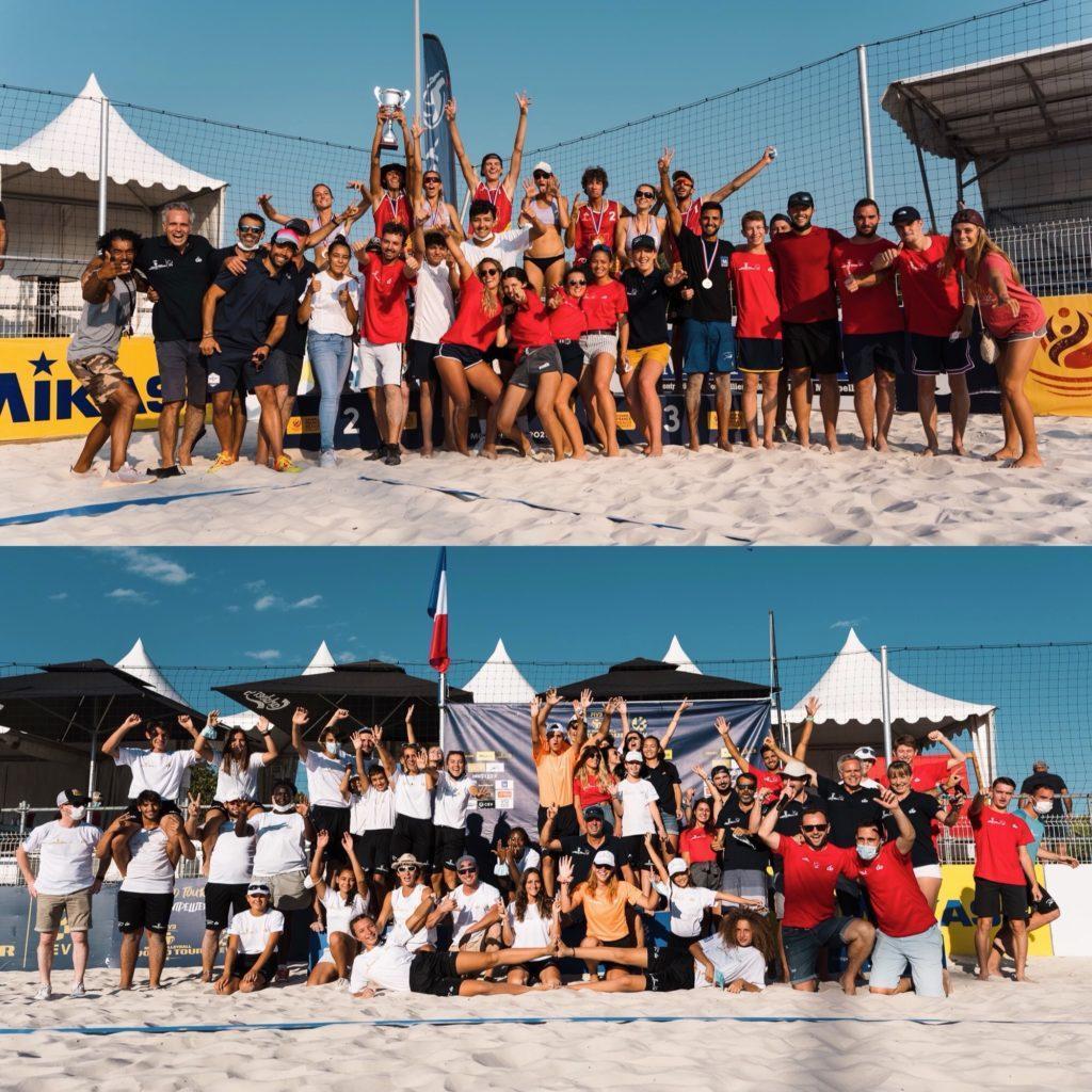 Read more about the article Une belle réussite pour le Montpellier Beach Masters 2021 !